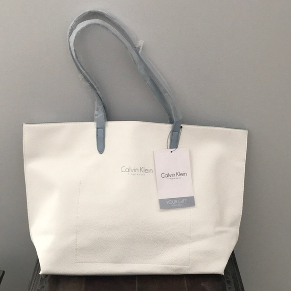 16701a2e5f981 Calvin Klein Fragrances Tote Bag NWT